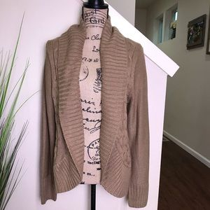 NWT mossimo brown cardigan